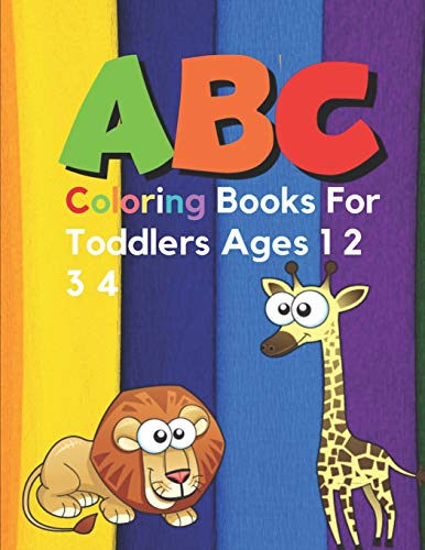 ABC Coloring Books For Toddlers Ages 1 2 3 4: Sesame Street Books For Toddlers ABC Dnealian Handwriting Workbook Cursive