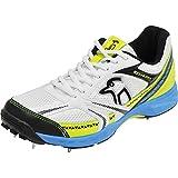 KOOKABURRA Pro 515 Spike Mens Adult Cricket Shoe White/ Blue