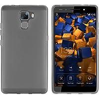 mumbi Schutzhülle Huawei Honor 7 Hülle / Honor 7 Premium transparent schwarz