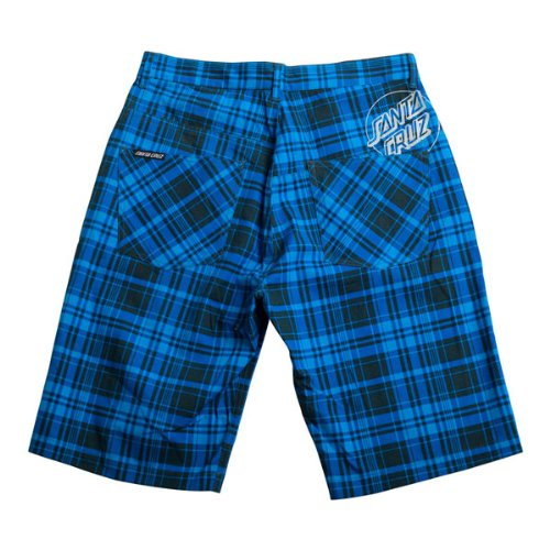 Santa Cruz -  Pantaloncini  - Uomo Blue Check