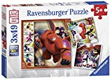 Disney Ravensburger Big Hero 6 3 x 49 Teile Puzzle