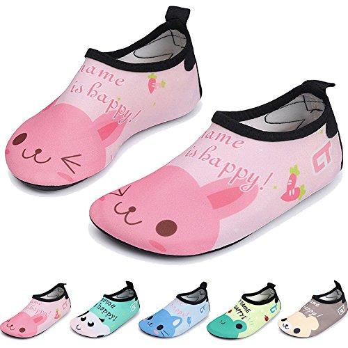BOLOG Zapatos de Agua de Natación Infantil para Niños Niñas Slip on Suave  Zapatos de niños 36ad9912fb7