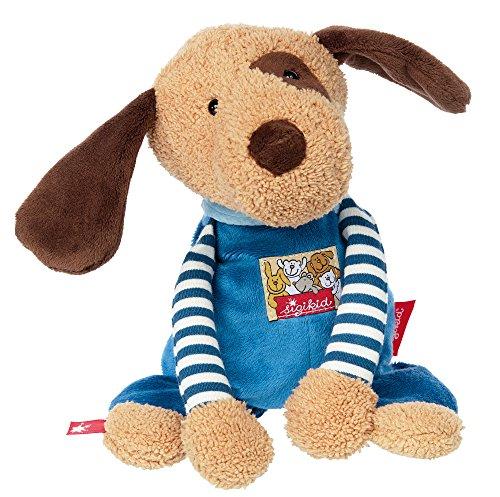 sigikid, Jungen, Stofftier, Hund, Babys Beste Freunde, Blau, 38729 -