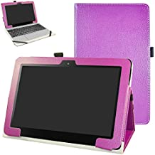 ASUS T101HA / Transformer Book T101HA Funda,Mama Mouth Slim PU Cuero Con Soporte Funda
