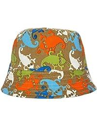 Toddler's Lizard Design Summer Sun Beach Bucket Hat