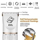 KYG Profi Hunde Schermaschine Elektrische Tierhaarschneider