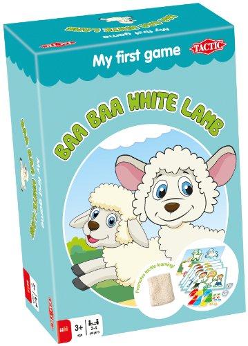 Baa Baa White Lamb - Accesorio para playsets (Tactic 41250) (importado)