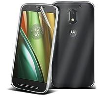 (Clear ) Motorola Moto E3 Power TPU Case Transparent Shockproof Gel Air Cushion Case Slim Soft Flexible TPU Bumper SKIN SHELL Cover for Motorola Moto E3 Power By i-TronixsŽ