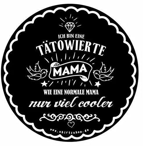 erte Mama - wie normal nur cooler Aufkleber Autoaufkleber Vinylaufkleber Outdoor wasserfest (Biker-mama)
