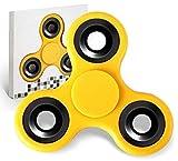 #4: Hand Fidget Spinner | Anti Stress | Colour: Yellow