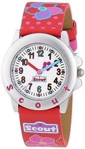 Scout Mädchen-Armbanduhr Analog Quarz Plastik 280393020