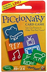 Mattell UNO Card Game Pack of 2 (Pictionary Card Game)