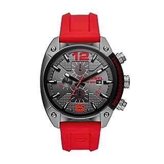 Diesel Reloj Cronógrafo para Hombre de Cuarzo con Correa en Silicona DZ4481 (B078SKX7HY) | Amazon price tracker / tracking, Amazon price history charts, Amazon price watches, Amazon price drop alerts