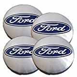 Best Hubcaps - 4x 54mm Ford Alloy Wheel Centre Hub Caps Review