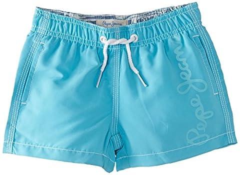 Pepe Jeans Guido - Short - Uni - Garçon - Bleu (Turquoise) - FR: 16 ans (Taille fabricant: 16 ans)