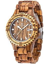 9bc38a6b43d3 Uwood - Reloj de madera para hombres