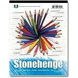 Stonehenge L21de stp250wh182418in. x 24en. VERSATILE Artist Papers Pad–15hojas de blanco