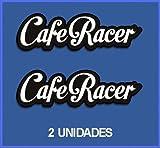 Ecoshirt LA-ZF2D-6B0A Pegatinas Stickers Cafe Racer