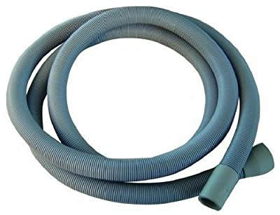 Extra Long 3.5m Length Universal Drain Hose For Washing Machine, Dishwasher & Other Applications, 2 Outlets 22mm & 29mm Bore - Please Check Pump Outlet Size.