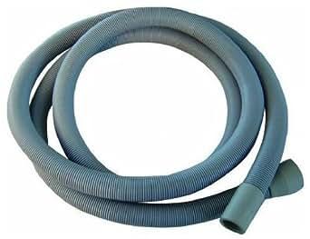 Extra long 3.5m de long universel de tuyau de vidange pour machine à laver, lave-vaisselle et d'autres Applications, 2prises de courant 22mm et 29mm alésage–Veuillez vérifier Sortie de pompe Taille..