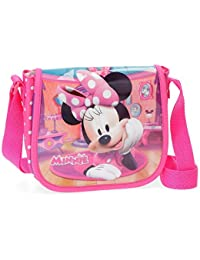 Disney Minnie Smile Sac bandoulière, 17 cm, 1.02 liters, Rose (Rosa)