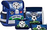 Schulranzen Set 4-tlg. Design Royal Football