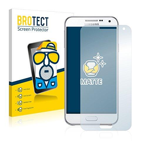 BROTECT Schutzfolie Matt für Samsung Galaxy E5 [2er Pack] - Anti-Reflex