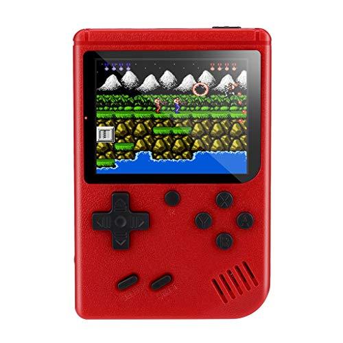 Tensay Unterstützung für tragbare Mini Handheld Spielekonsolen Anschließen eines Fernsehgeräts Eingebauter 3 Zoll-LCD Bildschirm 500 Classic Games