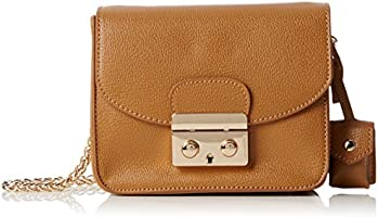 French Connection  Kira Key Fob X-body 2, Sacs bandoulière femme - Beige - Beige (Camel),