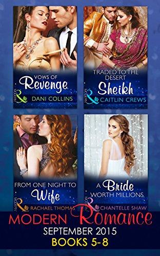 book cover of Modern Romance September 2015 Books 5-8