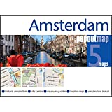 Amsterdam PopOut Map - handy, pocket-size pop up map for Amsterdam (Popout Maps)