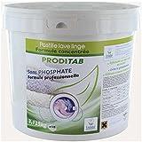125 tablettes de lessive concentrée PRODITAB Ecolabel