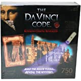 Da Vinci Code 750-Piece Mystery Puzzle With FREE UV Torch [Toy]