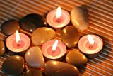 Pure Source India Good Quality 10 GM 25 Pcs Unscented tea Light Candles Smock less T Candles .