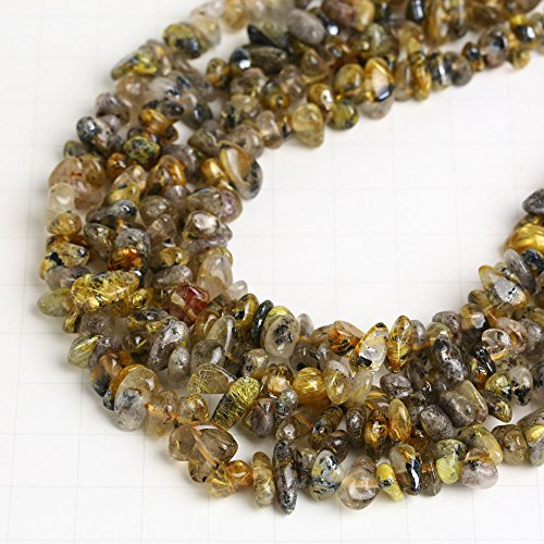 star-burst-rutilated-quartz-rutile-sun-freeform-gravel-chips-83x35mm-beads-strand-1-strand-apprx-155