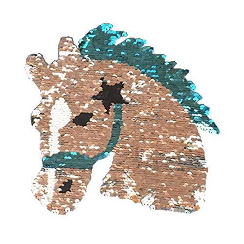 Chytaii. Unicornio Apliques Parche Patch Ropa Bordado