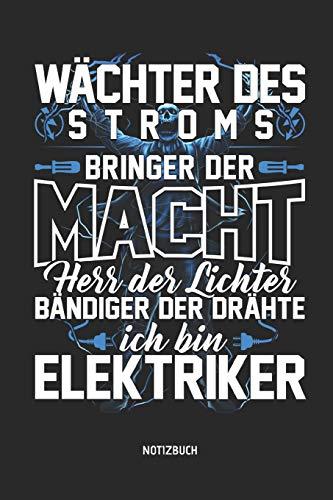 Elektriker Notizbuch mit Punktraster. Tolles Zubehör & Elektricker Geschenk Idee. ()