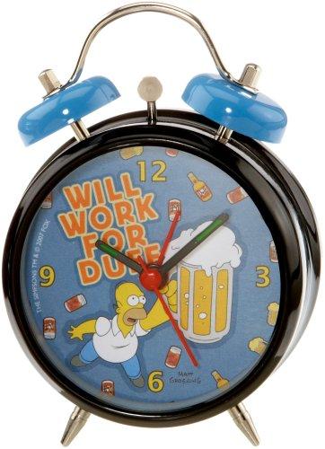 Los Simpson Despertador con Sonido de Campana Will Work fot Duff United Labels