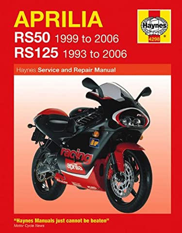Aprilia RS50 & RS125 1993-2006 Haynes Manual