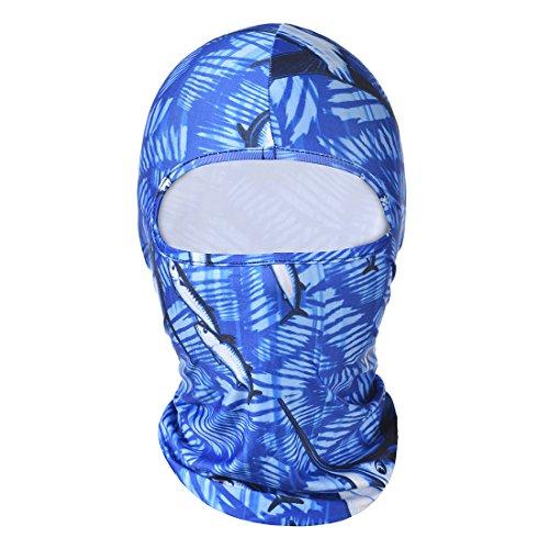 Hisea Pasamontañas Máscara de cara y cuello para motorista