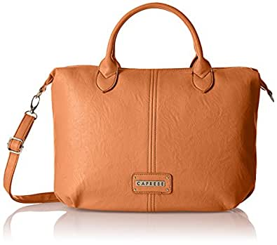 Caprese Women's Tia Satchel (Orange)