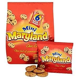 Maryland Mini Chocolate Chip Cookies 6 x 25g