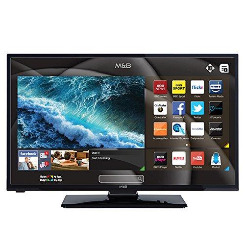M B JB551811FSMFS 55-Inch Freeview Smart HD TV - Black
