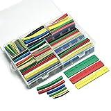 gikfun Schrumpfschlauch Sleeve Wire Kit 7Farben 9Größen Wickeln Sleeve Kit (Stück 385pcs) EK1850
