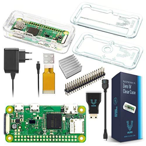 Vilros Raspberry Pi Zero W Basic Starter Kit-EU Plug Edition