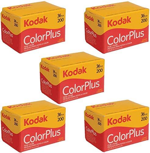 Kodak Colorplus Film, 200 ASA, 36 Aufnahmen, 5 Stück