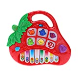 Ammoon Multi-Function Children Music Keyboard Educational Toys Children Gift Strawberry Toy Piano Colour Random