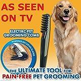 Morikai Elektrisches Haustier das Floh Kamm Bürsten Hundekatze Knoten Haar Trimmer
