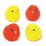 Baker Ross Knautschige blinkende Küken Spielset für Kinder (4 Stück) Lustiges Spielzeug für Kinder zu Ostern, perfekte Party, Beute, Preis oder Korbfüller