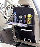 Autositz Zurück Aufbewahrungsbox, Faltbare Autotisch Tablet Ständer Flaschenhalter Multifunktions Aufbewahrungstasche (2 Packs)